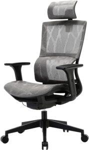 最佳颈部支撑的网状办公椅:XUER Ergonomic Office Chair