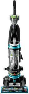 最佳BISSELL宠物吸尘器:BISSELL Cleanview Swivel Rewind Pet Upright Bagless Vacuum Cleaner