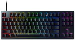 最佳TKL(无数字键)机械游戏键盘 Razer Huntsman Tournament Edition TKL Tenkeyless Gaming Keyboard