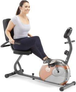 最便宜的卧式健身车 Marcy Recumbent Exercise Bike with Resistance ME-709