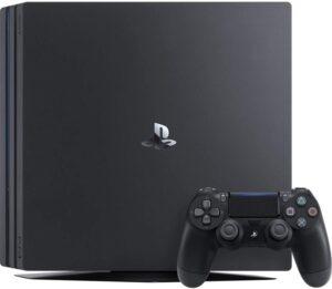 最便宜的原生4K游戏机 PlayStation 4 Pro 1TB Console