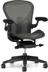 最符合人体工程学的网状办公椅:Herman Miller Aeron Ergonomic Chair