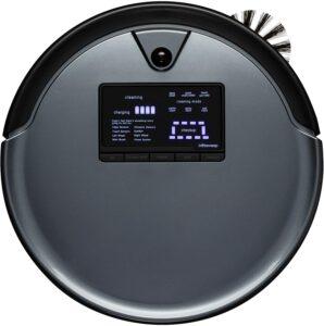 最适合宠物主人用的扫地机器人:BObsweep PetHair Plus Robotic Vacuum Cleaner and Mop, Charcoal