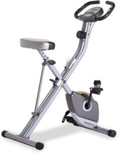 最适合小型空间的健身车 Exerpeutic Folding Magnetic Upright Exercise Bike