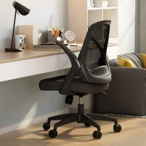 最适合操作电脑的网状办公椅:Hbada Office Task Desk Chair Swivel Home Comfort Chairs