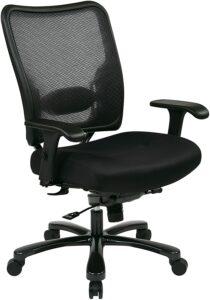 最高大的网状办公椅::SPACE Seating Big and Tall Ergonomic Managers Chair