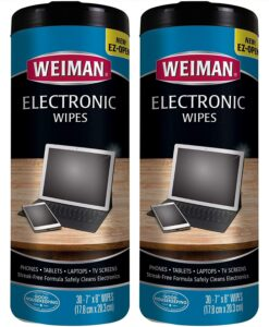 清洁显示器屏幕用品Weiman Electronic Wipes