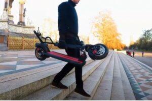 电动滑板车的5个好处之一 便携性