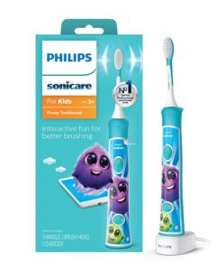 适合小孩使用的电动牙刷 Philips Sonicare Sonicare For Kids Rechargeable Electric Toothbrush