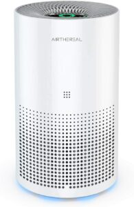 Airthereal ADH80 Air Purifier with True HEPA for Car, Desktop and Home