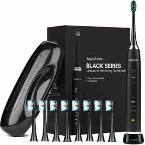 AquaSonic Black Series Ultra Whitening Toothbrush 电动牙刷
