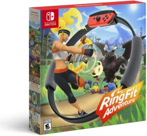 Nintendo Switch 健身环游戏 Ring Fit Adventure - Nintendo Switch
