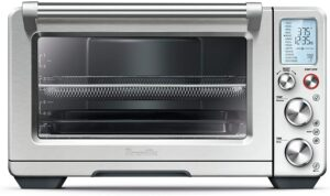 一款广受好评的电烤箱 Breville BOV900BSS Smart Oven Air Convection and Air Fry Countertop Oven