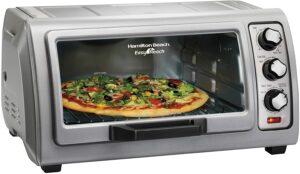 价格最实惠的一款电烤箱 Hamilton Beach 6-Slice Countertop Toaster Oven