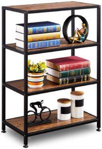 仿古书柜书架 GreenForest Industrial Bookcase