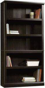 传统的5层书柜书架 Sauder Select Collection 5-Shelf Bookcase