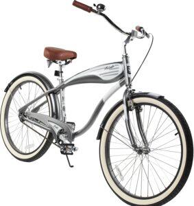 外观很独特的男士巡洋舰自行车 Columbia Superb 5 Star 26-inch Men's Retro Beach Cruiser Bike