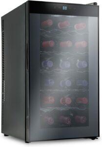 好评度很高的一款红酒冷藏柜 Ivation 18 Bottle Thermoelectric Red And White Wine Cooler