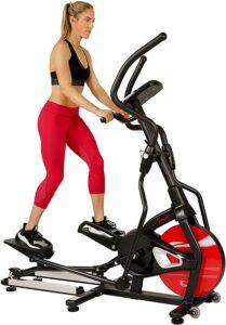 家用整体最佳椭圆机 Sunny Health & Fitness Magnetic Elliptical Trainer Machine with Tablet Holder