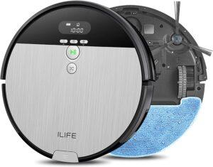 性价比最高的2合一拖地机器人 ILIFE V8s 2-in-1 Mopping Robot Vacuum