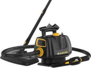 整体性能最佳的蒸汽清洁机 McCulloch MC1270 Portable Power Cleaner with Floor Mop, Variable Steaming, 16-Piece Accessory Set, All-Natural Chemical-Free Cleaning