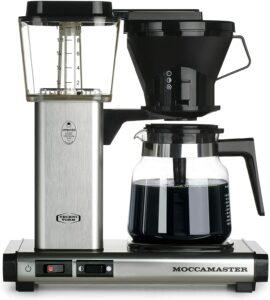 日常咖啡机的完美之选 Technivorm 59691 kb Coffee Brewer, 40 oz, brushed silver