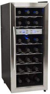 最佳不锈钢酒柜 EdgeStar Bottle Freestanding Dual Zone Stainless Steel Wine Cooler