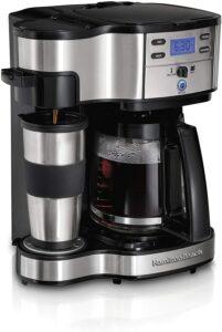 最佳单人咖啡机 Hamilton Beach 2-Way Brewer Coffee Maker