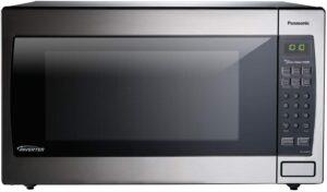 最佳微波炉 Panasonic Microwave Oven NN-SN966S Stainless Steel Countertop