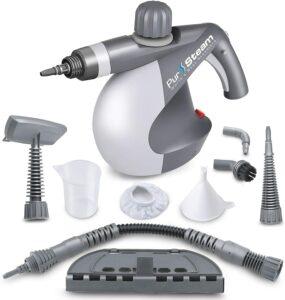 最佳手持式蒸汽清洁机 PurSteam World's Best Steamers Chemical-Free Cleaning PurSteam Handheld Pressurized Steam Cleaner