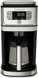 最佳研磨咖啡机 Cuisinart DGB-800 Fully Automatic Burr Grind & Brew