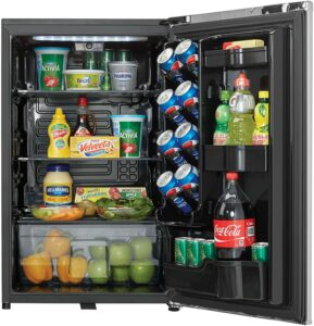 最佳通用型柜式迷你冰箱 Danby 4.4 Cu.Ft. Mini Fridge.
