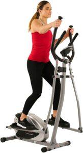 最佳预算型椭圆机 Sunny Health & Fitness SF-E905 Elliptical Machine Cross Trainer