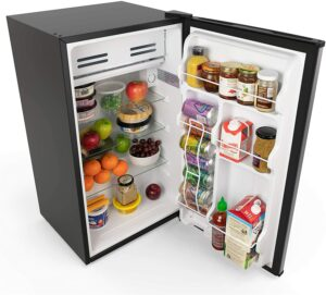 最好用的柜式迷你冰箱 hOmeLabs Mini Fridge - 3.3 Cubic Feet Under Counter Refrigerator