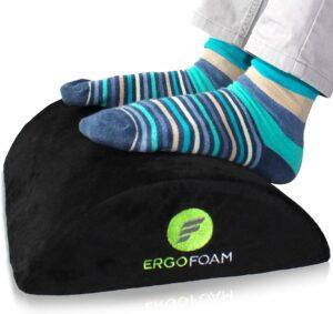最舒适的脚垫 ErgoFoam Ergonomic Foot Rest Under Desk
