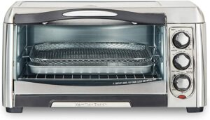 最超值的电烤箱 Hamilton Beach 31323 Sure-Crisp Air Fry Toaster Oven