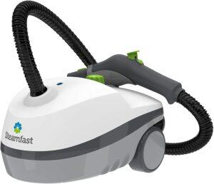 最轻便灵活的罐式蒸汽清洁机 Steamfast SF-370 Canister Cleaner with 15 Accessories-All-Natural, Chemical-Free Pressurized Steam Cleaner