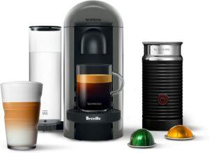 最适合存放的咖啡机 Breville VertuoPlus Coffee and Espresso Machine