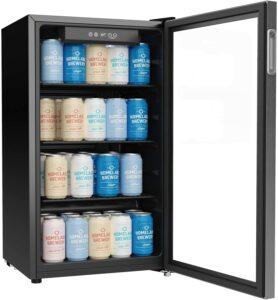 最适合小饮的柜式迷你冰箱 hOmeLabs Beverage Refrigerator and Cooler