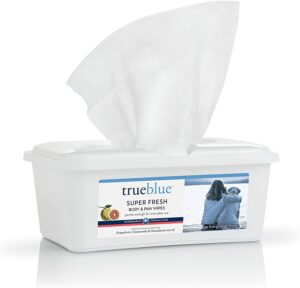 最适合清洁狗狗爪子的湿巾 TrueBlue Super Fresh Body and Paw Wipes for Dogs and Puppies