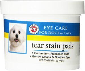 最适合清理狗狗眼睛周围的眼垫 Miracle Care Eye Clear 1 ounce Bottle
