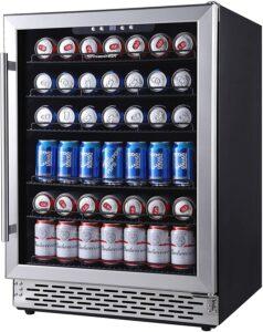 最适合装啤酒的柜式迷你冰箱 Phiestina 24 Inch Beverage Cooler Refrigerator