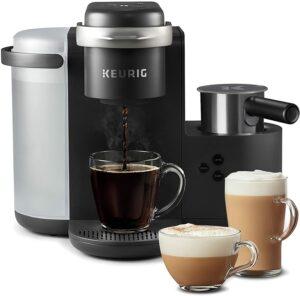 最通用的咖啡机 Keurig k-cafe coffee maker, latte maker and cappuccino maker