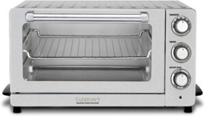 最通用的电烤箱 Cuisinart TOB-60N1 Toaster Oven Broiler with Convection