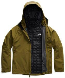 滑雪服The North Face Men's Thermoball Eco Triclimate Insulated Jacket 滑雪衣