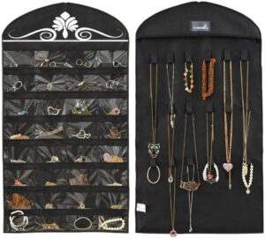 珠宝整理收纳器 Misslo Jewelry Hanging Non-Woven Organizer Holder