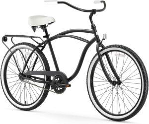 轮胎很耐用的男士沙滩巡洋舰自行车 Sixthreezero Around The Block Men Beach Cruiser Bicycle