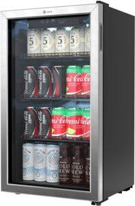适合办公室的柜式迷你冰箱 Vremi Beverage Refrigerator and Cooler