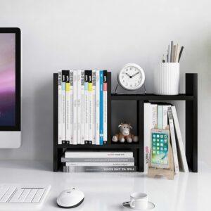 适合放在电脑旁边的小书架 Desktop Organizer Office Storage Rack