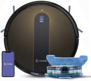 适合清洁多种表面的拖把机器人 Coredy R750 Robot Vacuum Cleaner